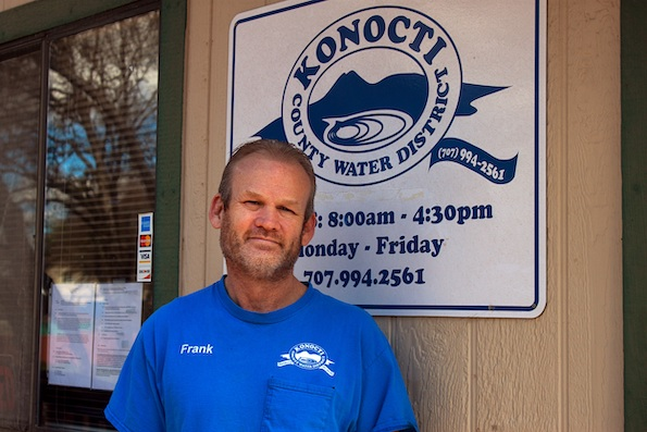 Frank Costner, the general manager of Konocti County Water District