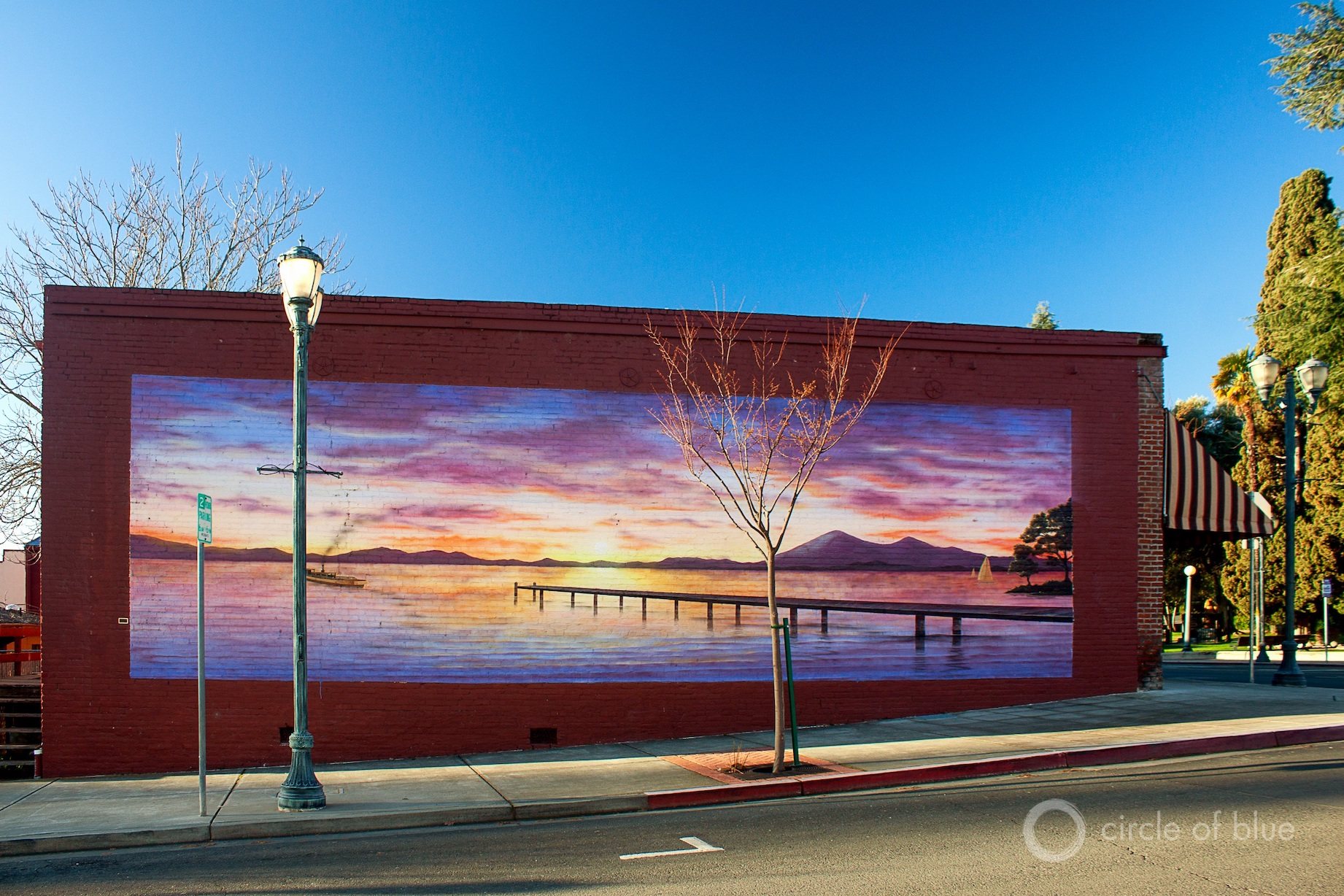 Clear Lake, California mural