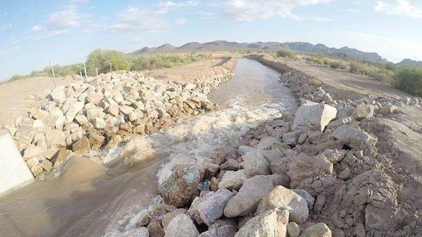 Gila River Indian Community Managed aquifer recharge site 5