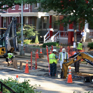Does this city's progress on removing lead water lines show the potential for U.S.-wide replacement?